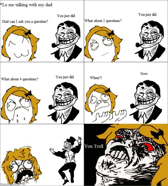 troll dad meme by blackzero368 memedroid