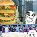 Biggest hamburger...
