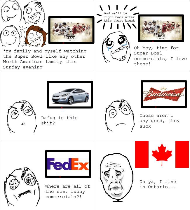 Super Bowl rage - meme