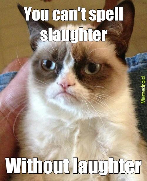 Slaughter - meme