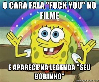 legendas - meme