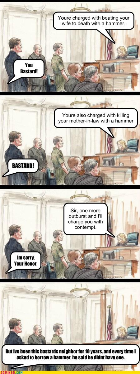 Lying bastard - meme