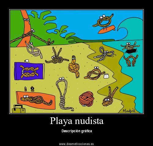 Playa Nudista-Definicion Grafica - meme