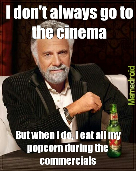 Damn commercials - meme