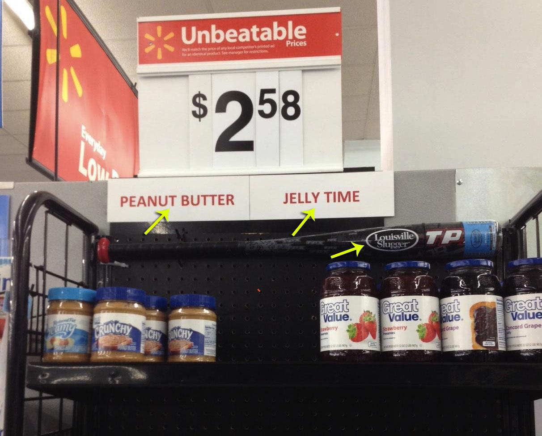 peanut butter jelly time! - meme