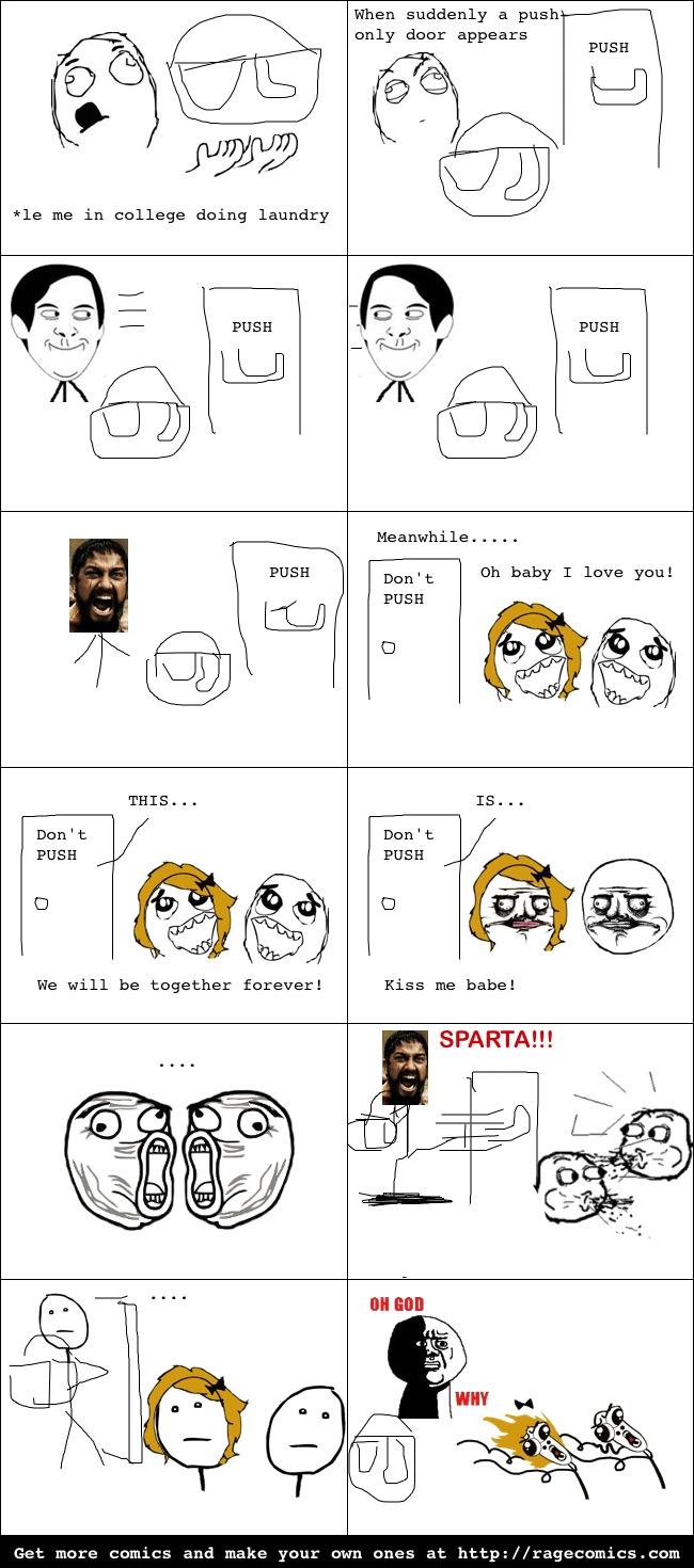 Oh God Sparta - meme