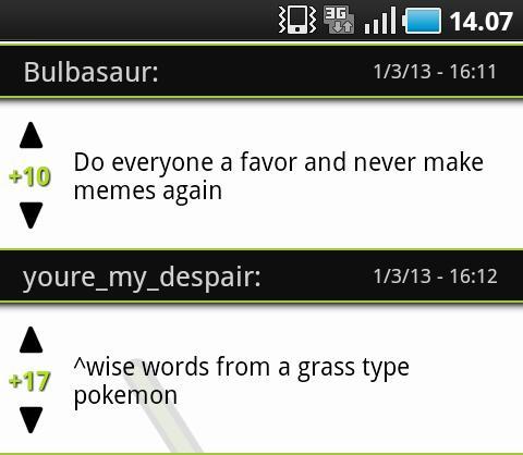 Bulbasaur - meme